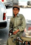 boy with incense, kabul